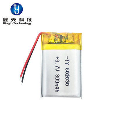 High quality polymer lithium battery 602030