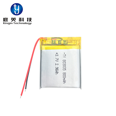 Polymer lithium battery 803035