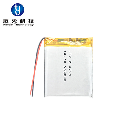 Brand polymer lithium battery pack 254751