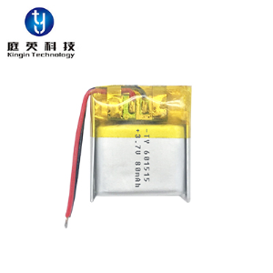Polymer lithium battery 601515