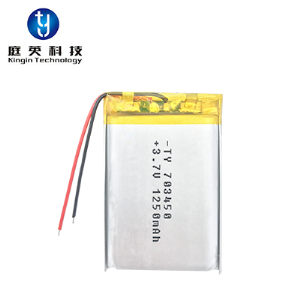 High quality polymer lithium battery 703450