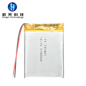 High quality polymer lithium battery 705065